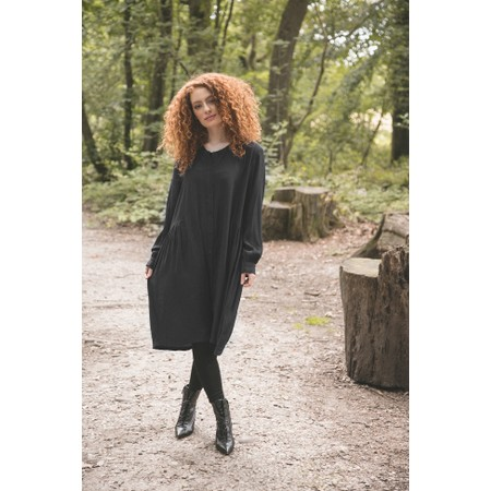 Masai Clothing Nelly Shirt Dress - Black