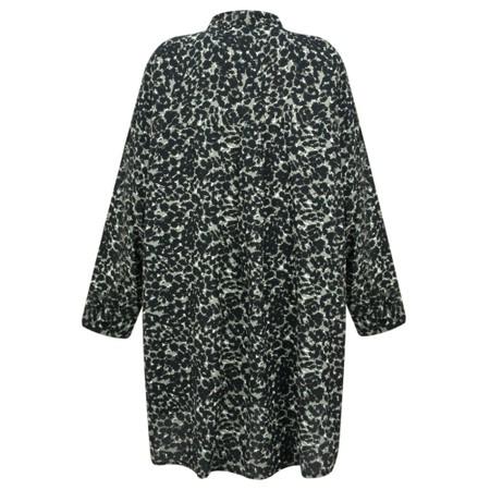 Masai Clothing Gyneth Leopard Print Tunic - Blue