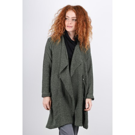 Masai Clothing Jonna Boucle Jacket - Blue