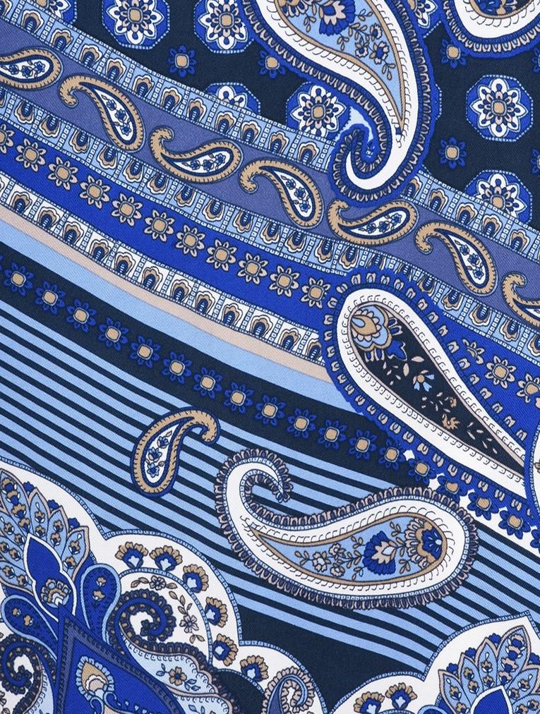 Paisley Collage Print Dress main image