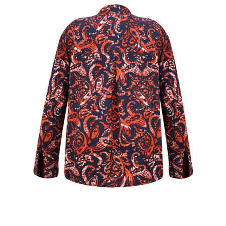 Sandwich Clothing Fiery Paisley Print Blouse - Red