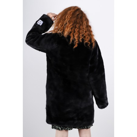 RINO AND PELLE Faux Fur Joela Coat - Black