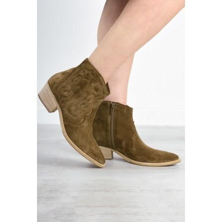 Kennel Und Schmenger Eve Western Boot  - Brown