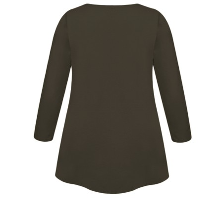Masai Clothing Cilla Basic Top - Brown
