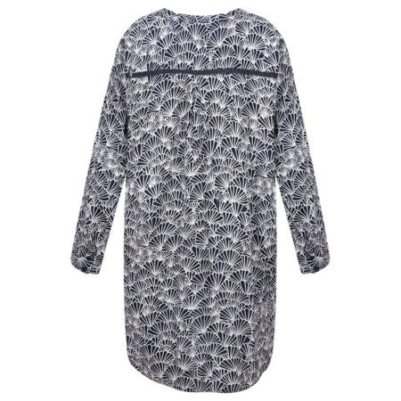 Masai Clothing Gretchen Print Tunic - Blue