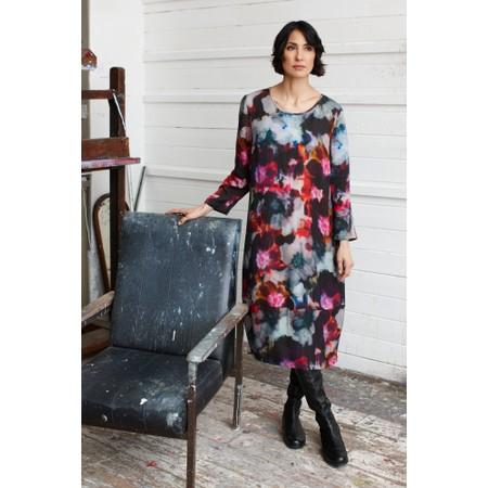 Sahara Anemone Blossom Print Dress - Multicoloured