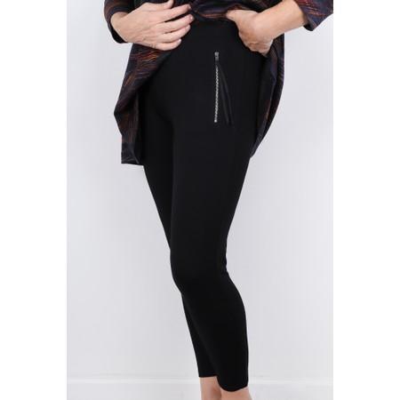 Masai Clothing Parissi Basic Capri Tregging  - Black