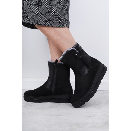 Tamaris  Lenta Nordic Ankle Boot  - Black