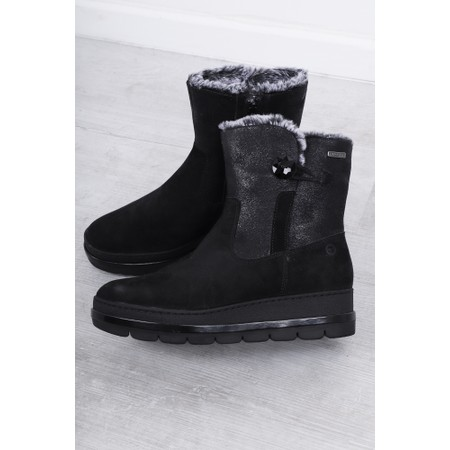 Tamaris  Lenta Nordic Ankle Boot  - Black
