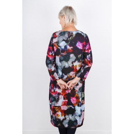 Sahara Anemone Blossom Print Dress - Multicoloured