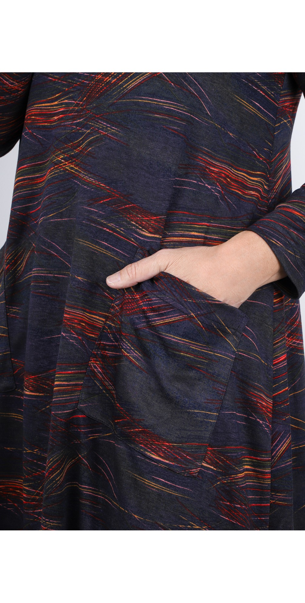 Kinetic Jersey Bubble Dress main image