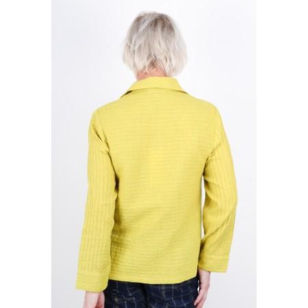 Sahara Soft Cotton Pin-tuck Shirt  - Orange