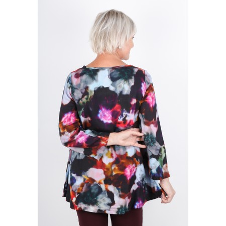 Sahara Anemone Blossom Print Top - Multicoloured