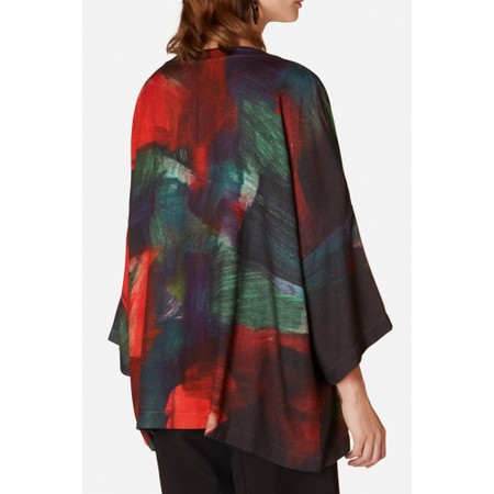 Sahara Painterly Block Print Top - Multicoloured