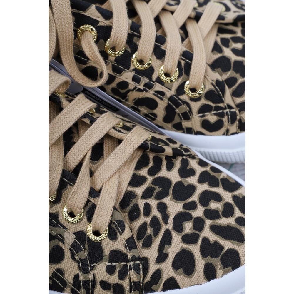 Superga Fantasy Classic Leopard Trainer Leopard