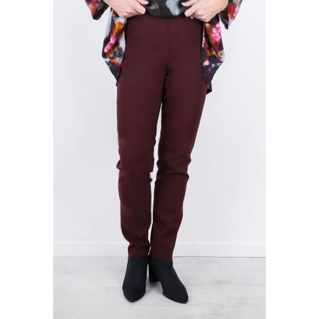 Robell  Bella 78cm Slim Full Length Trouser - Purple