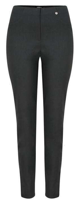 Robell  Bella 78cm Slim Fit Full Length Trouser Anthracite 97
