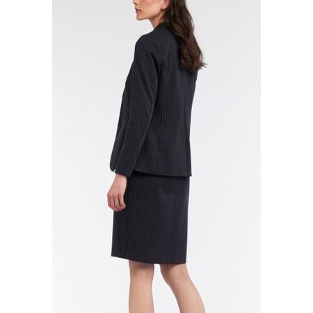 Sandwich Clothing Pin Stripe Blazer Jacket - Blue