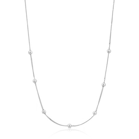 Ania Haie Modern Beaded Necklace - Metallic