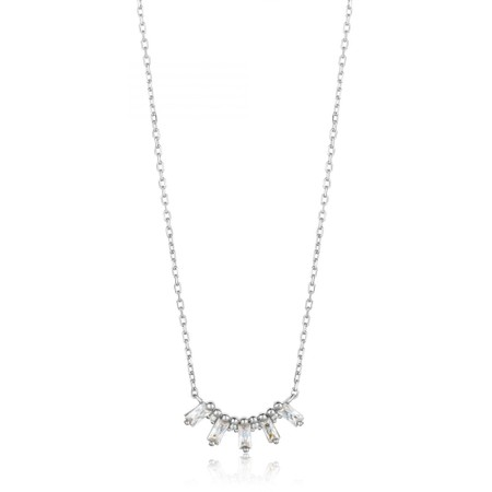 Ania Haie Glow Solid Bar Necklace - Metallic