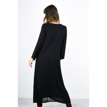 Sahara Drape Dress - Black