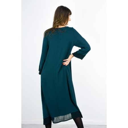 Sahara Drape Dress - Green