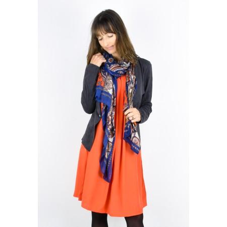 Masai Clothing Harper Tunic Dress - Orange