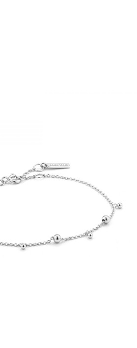 Ania Haie Modern Circle Bracelet Silver