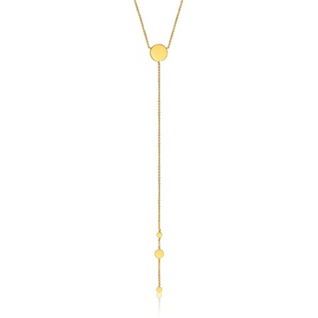 Ania Haie Geometry Y Necklace - Gold