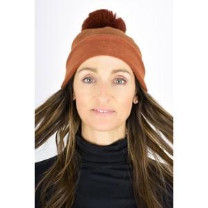 Gemini Label  Ripley Faux Fur Pom Beanie Hat