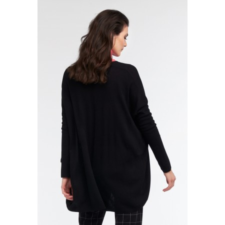 Sandwich Clothing Relaxed Draped Back Cardigan - Black