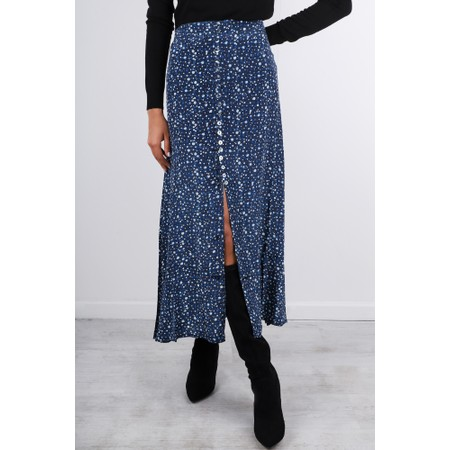Mercy Delta Moulton Skirt - Blue