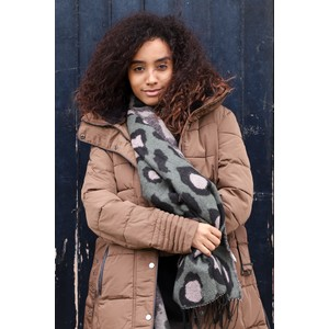 RINO AND PELLE Blush Quilted Coat
