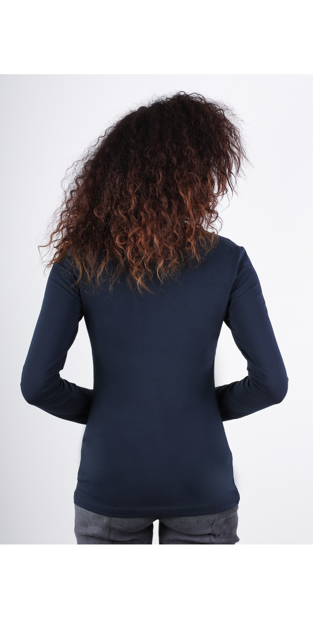 Essentials Fitted Stretch Top main image