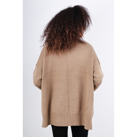 French Connection River Vhari Knit Jumper - Brown
