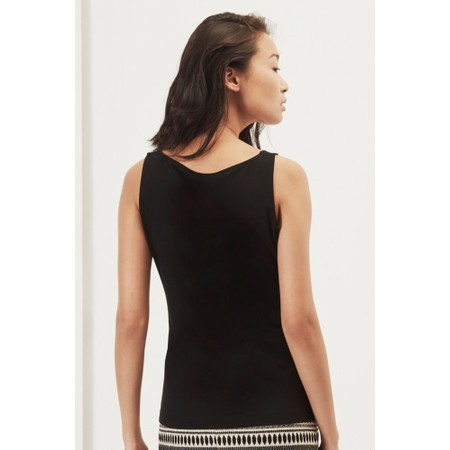 Great Plains Essentials Fitted Stretch Vest - Black