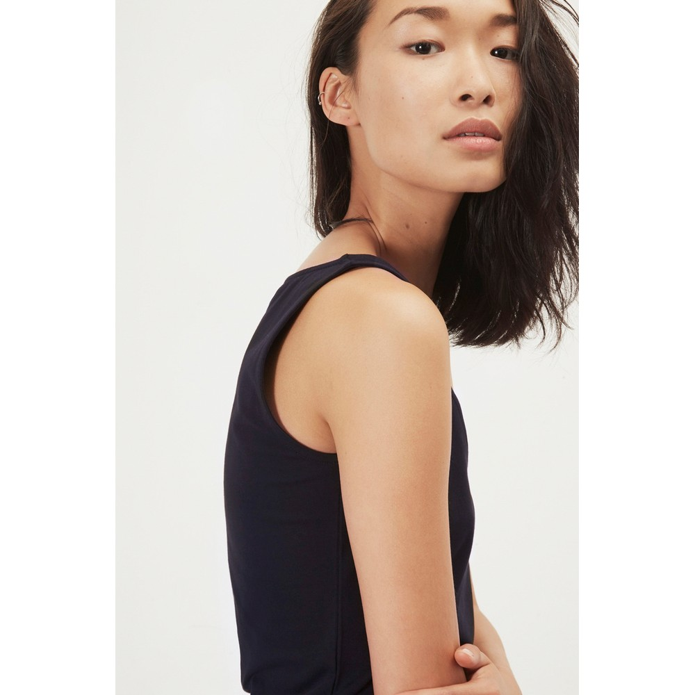 Great Plains Essentials Fitted Stretch Vest Classic Navy
