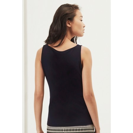 Great Plains Essentials Fitted Stretch Vest - Blue