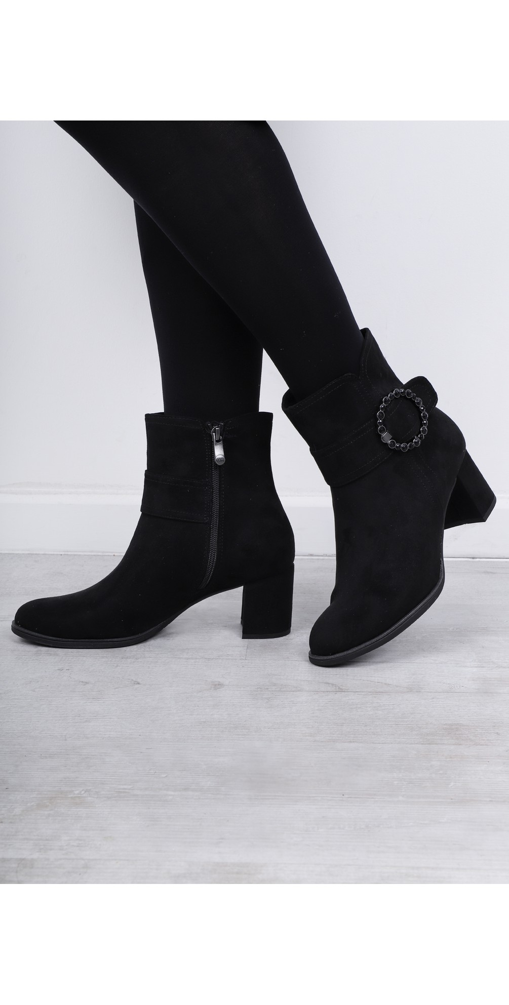Lodie Buckle Detail Ankle Boot main image