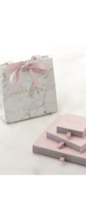 Ania Haie Swirl Nexus Earrings Silver