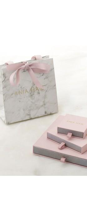 Ania Haie Crush Ear Cuff Silver