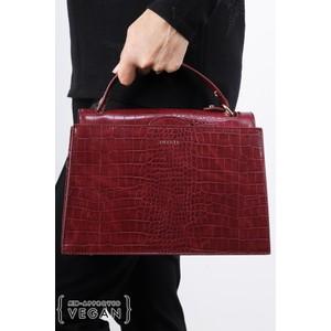 Inyati Olivia Croco Top Handle Bag