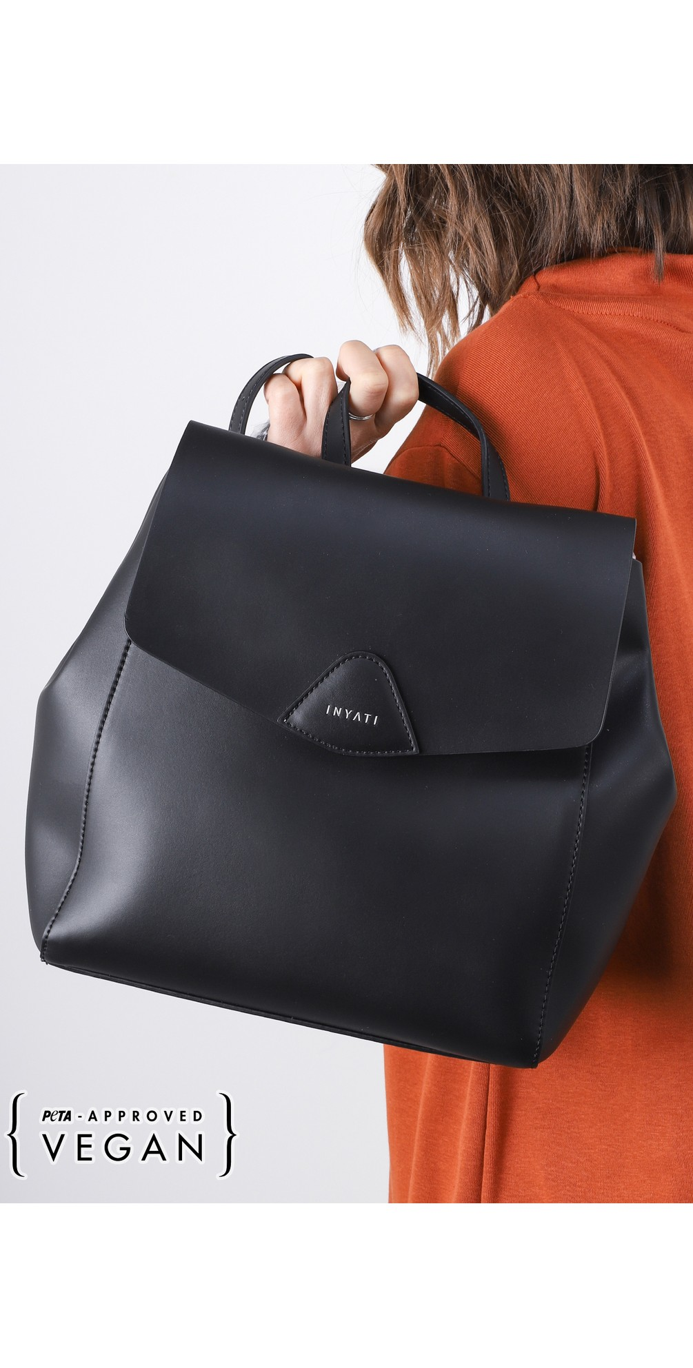 Thalie Faux Leather Backpack main image