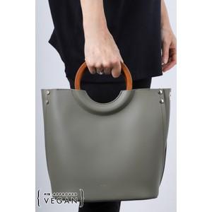 Inyati Viviana Faux Leather Top Handle Bag