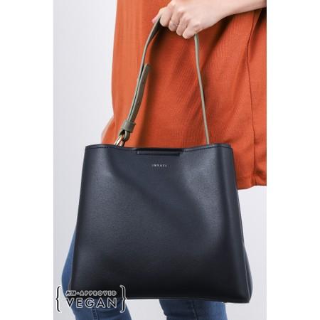 Inyati Jane Faux Leather Tote Bag - Black
