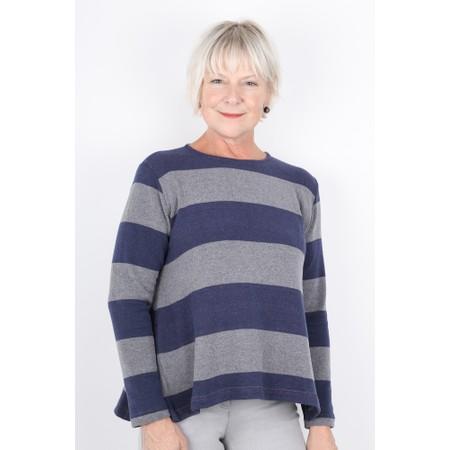 Mama B Cancun Stripe Top - Blue
