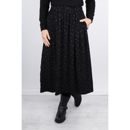 Mama B Dudo Printed Skirt - Black