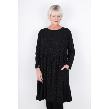 Mama B Koci Easy Fit Spot Dress - Black