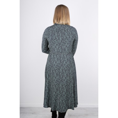 Sandwich Clothing Long Snakeskin Print Dress - Green