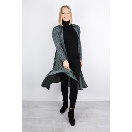 Sandwich Clothing Long Snakeskin Print Dress - Green